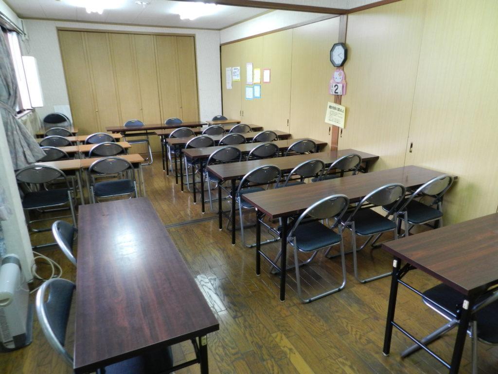 教室スペース:貸会議室、セミナールームタイプのフロア